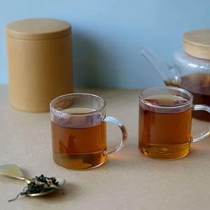 Sort te fra Nepal hos Spill the Tea.